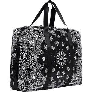 Supreme bandana Tarp Duffle bag